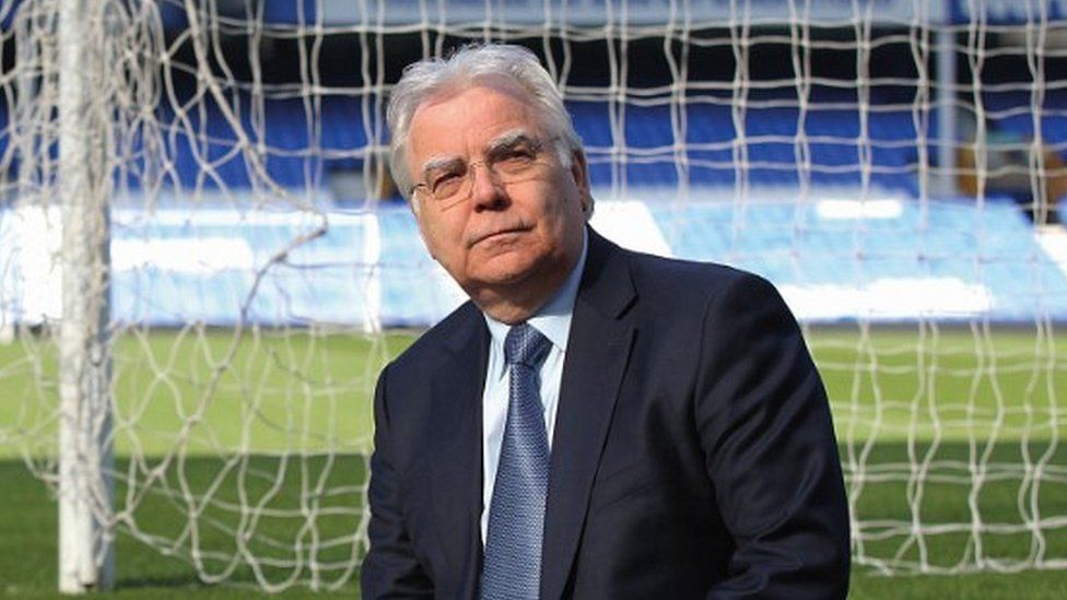 Everton FC chairman Bill Kenwright