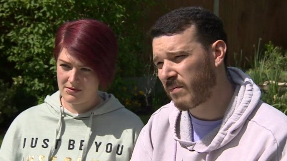 Tracey and Robert Hanley want people to be aware of this rare condition, as lockdown restrictions ease