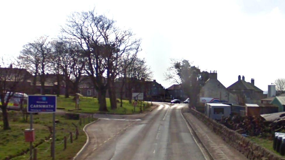 A70 near Carnwath
