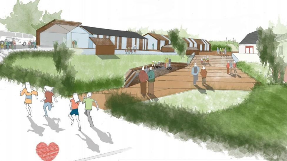 How the Llangrannog centre may look in the future