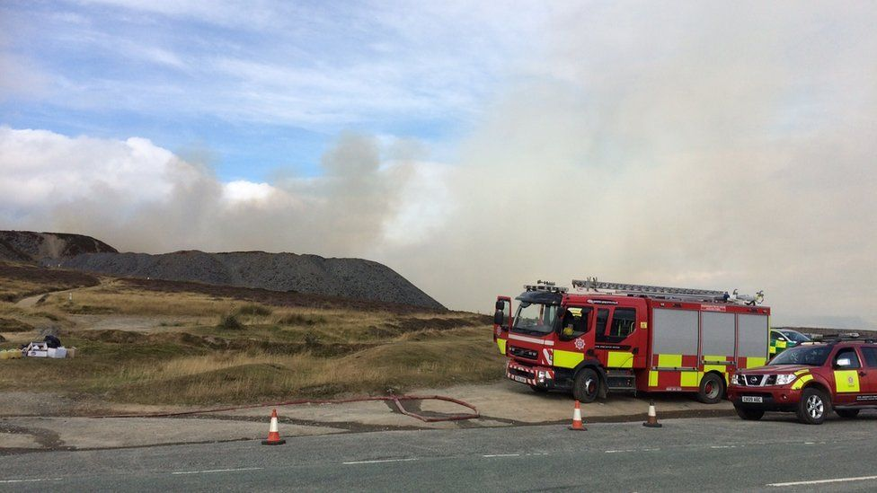 'Lack of land management' contributed to Llantysilio fire