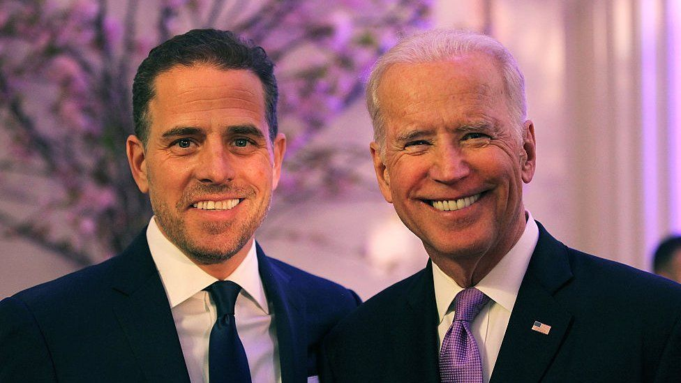 Joe and Hunter Biden