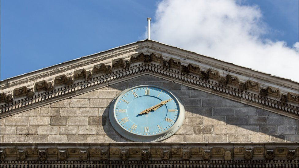 Trinity College Dublin clock