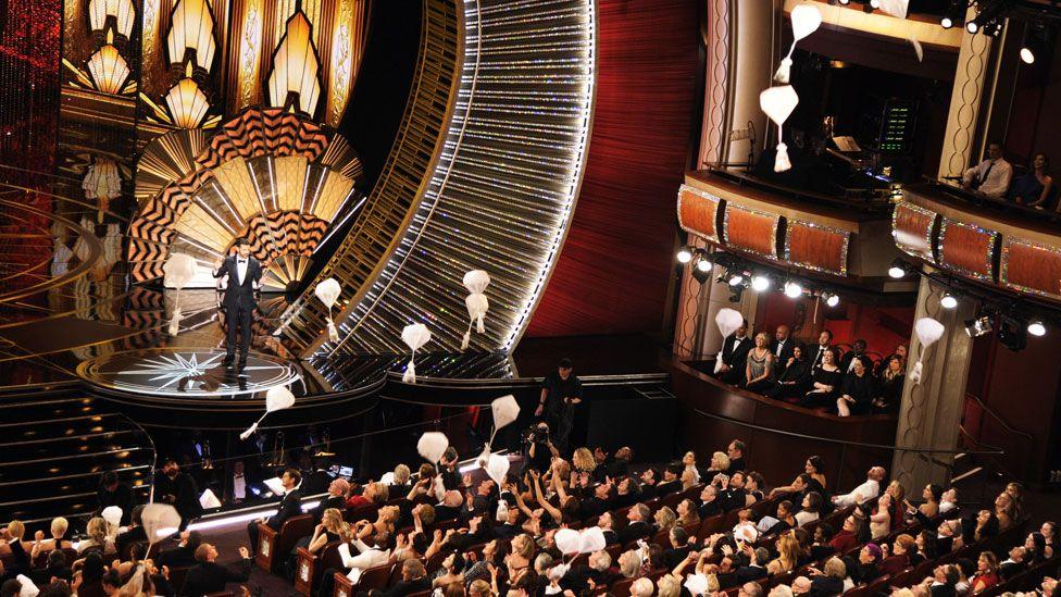 Jimmy Kimmel hosting the Oscars