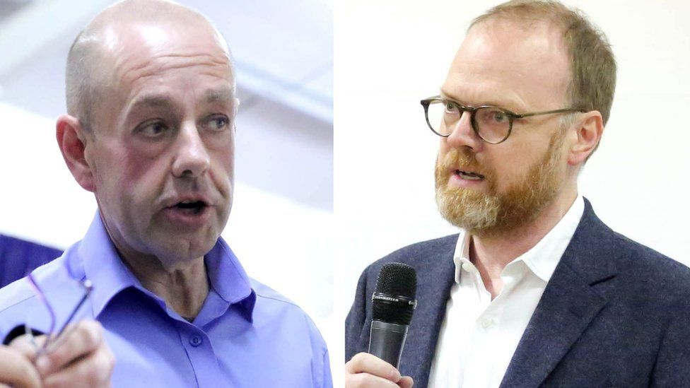 Barry McCaffrey and Trevor Birney