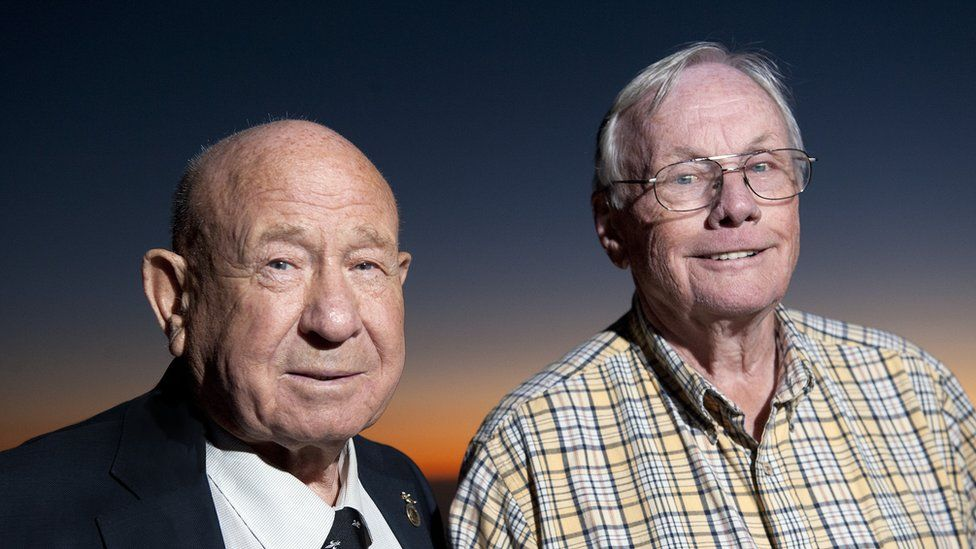 Leonov and Neil Armstrong