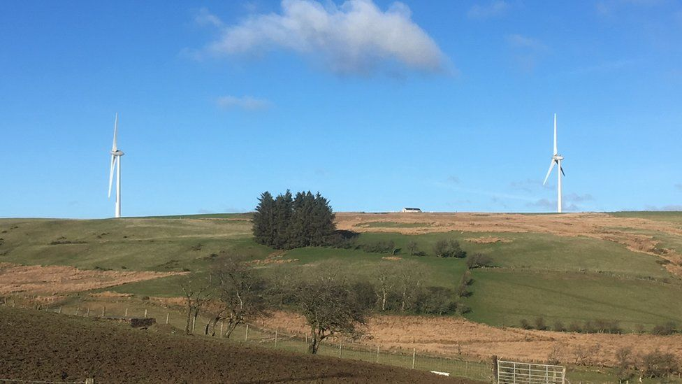 Bryn Blaen wind farm