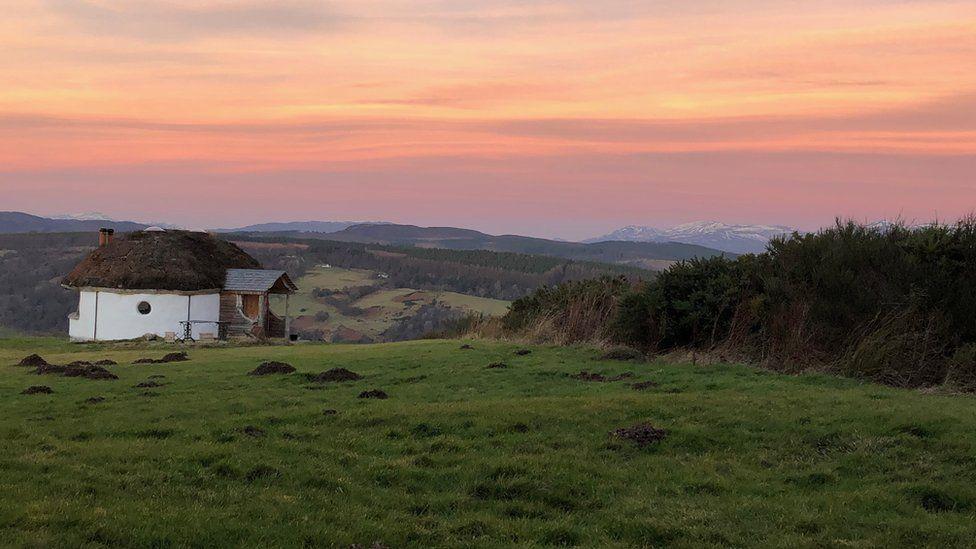 Highlands sunrise