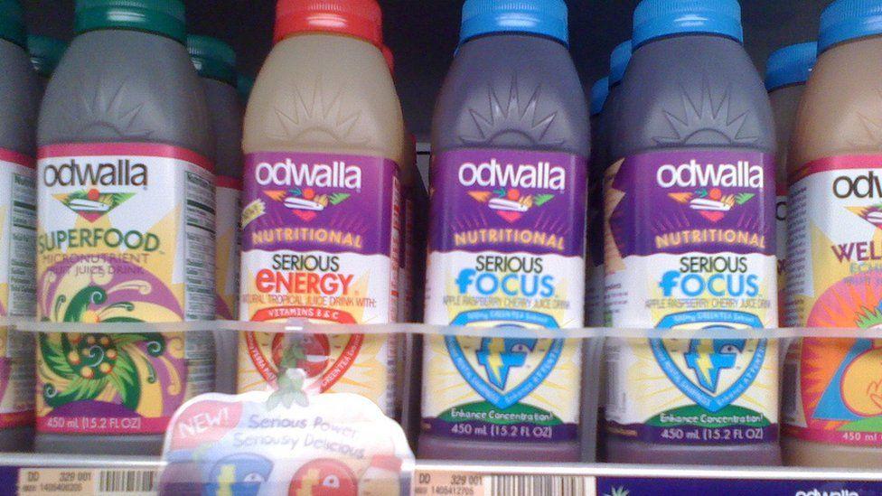 Odwalla bottles