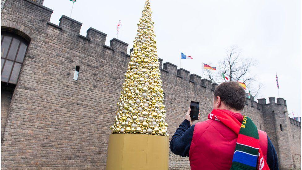 Cardiff Christmas Tree