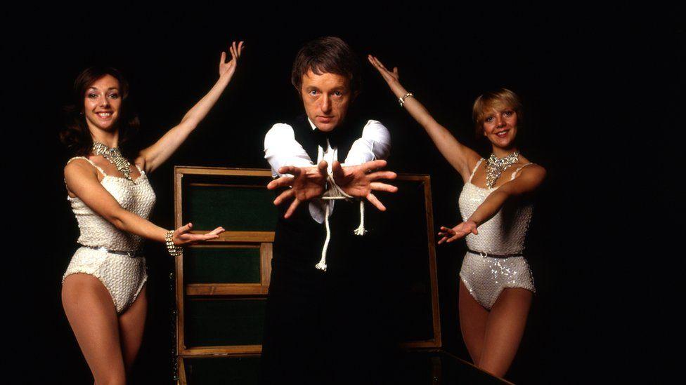 Paul Daniels on the Paul Daniels Magic Show