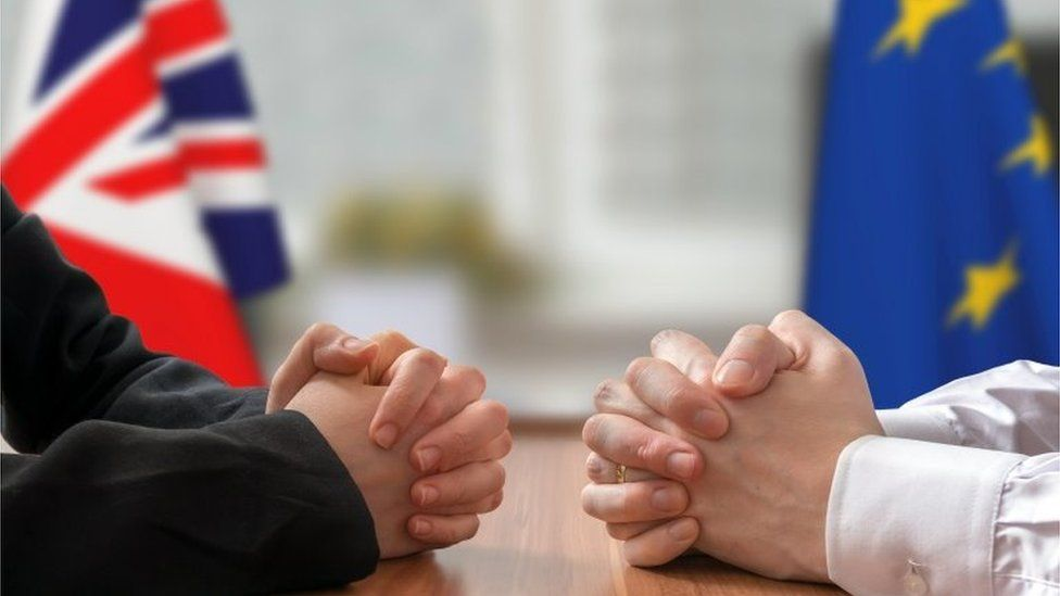 EU and UK meeting