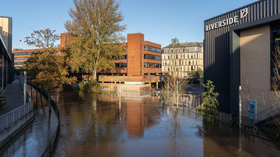 Riverside shopping area, Stafford