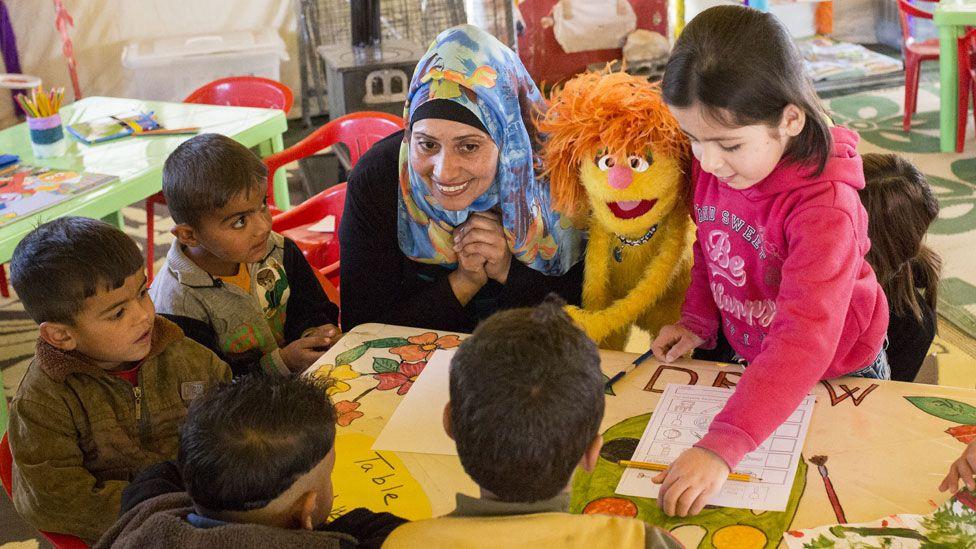 Sesame Street for Syria