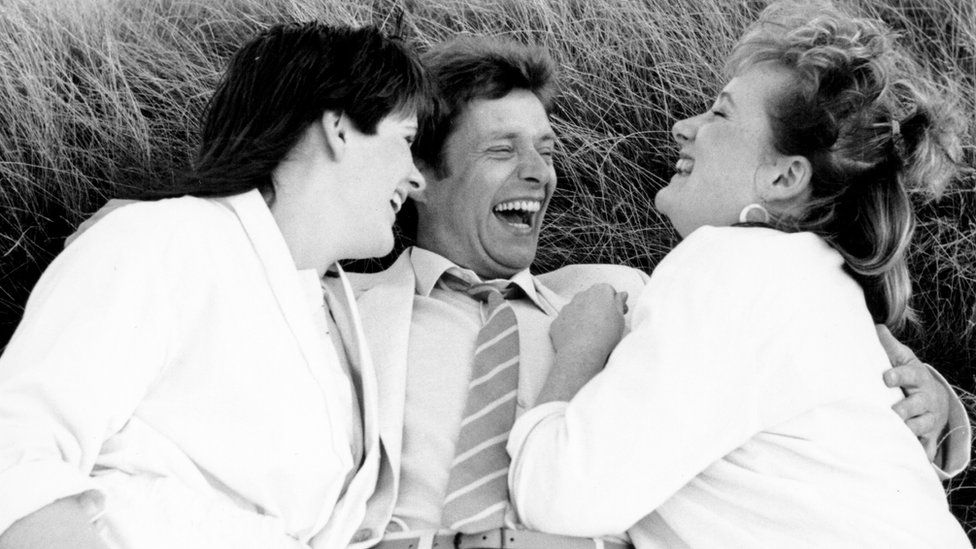 Siobhan Finneran, George Costigan and Michelle Holmes in Rita, Sue and Bob Too