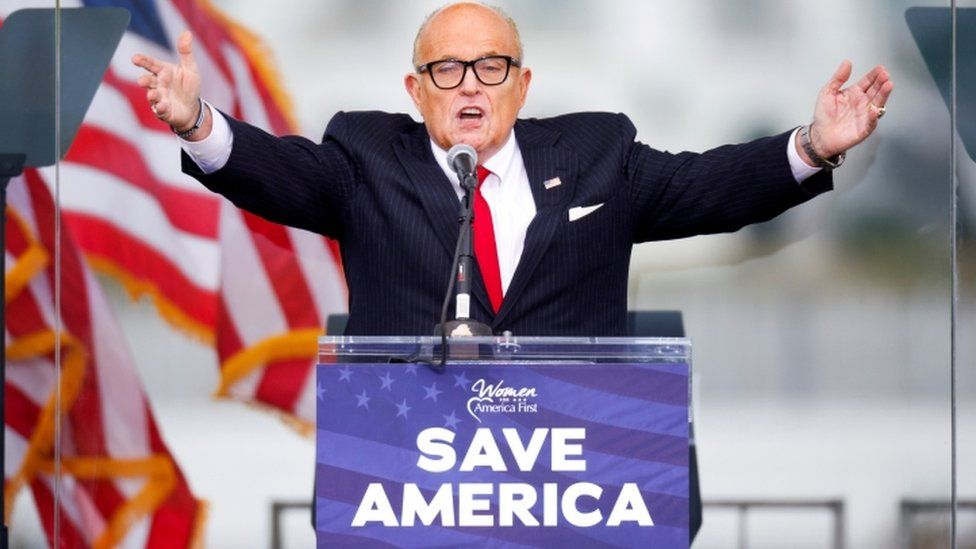 Dominion Voting Systems suing Rudy Giuliani for $1.3 billion, reports say