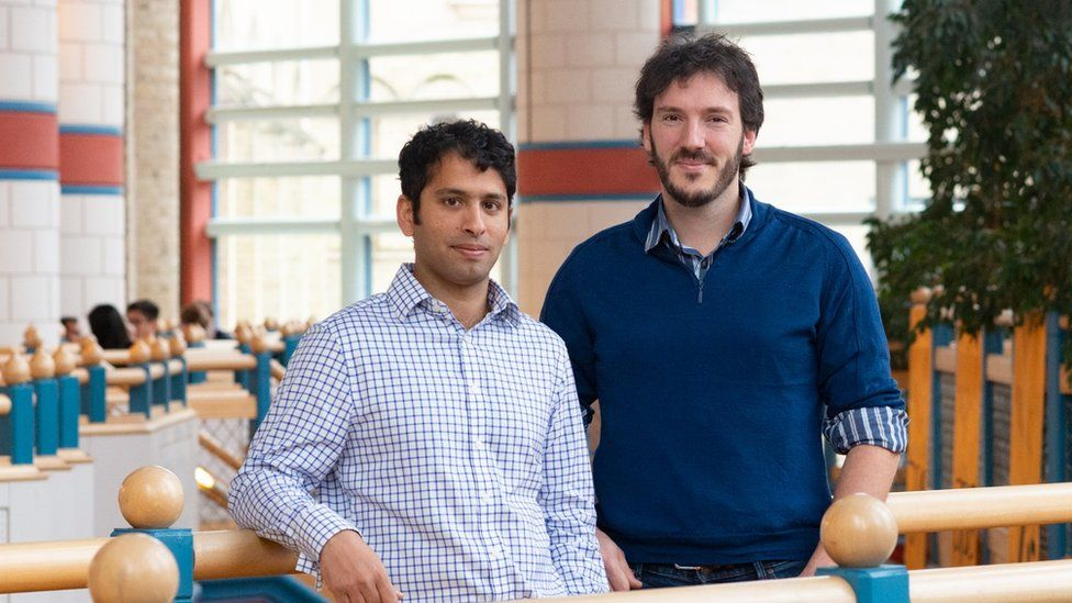 Spotta co-founders Neil D'Souza and Robert Fryers (right)