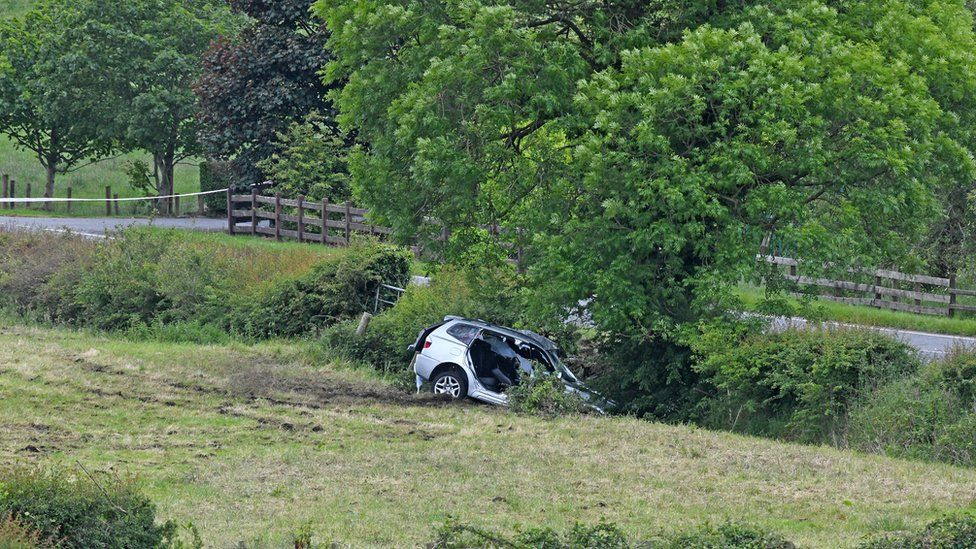 Two critical after separate crashes in Bangor and Dungannon
