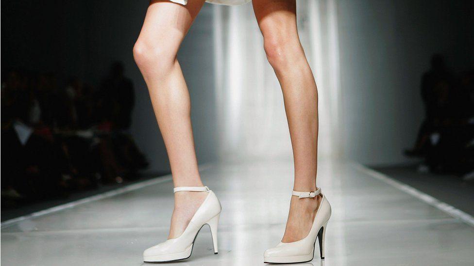 Model, London Fashion week, 2006