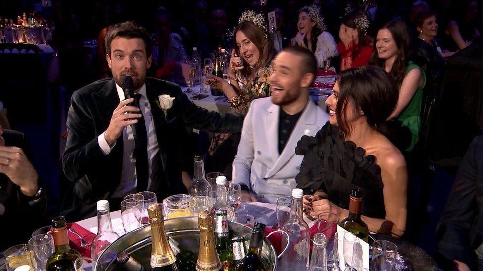 Jack Whitehall, Liam Payne and Cheryl
