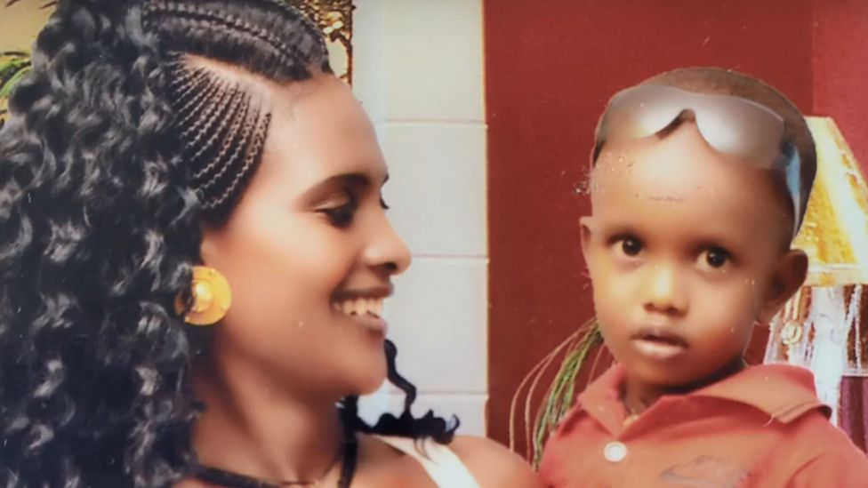 Atsede Nguse did not want her son to grow without a father