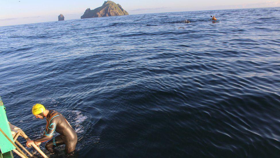 St Kilda swim
