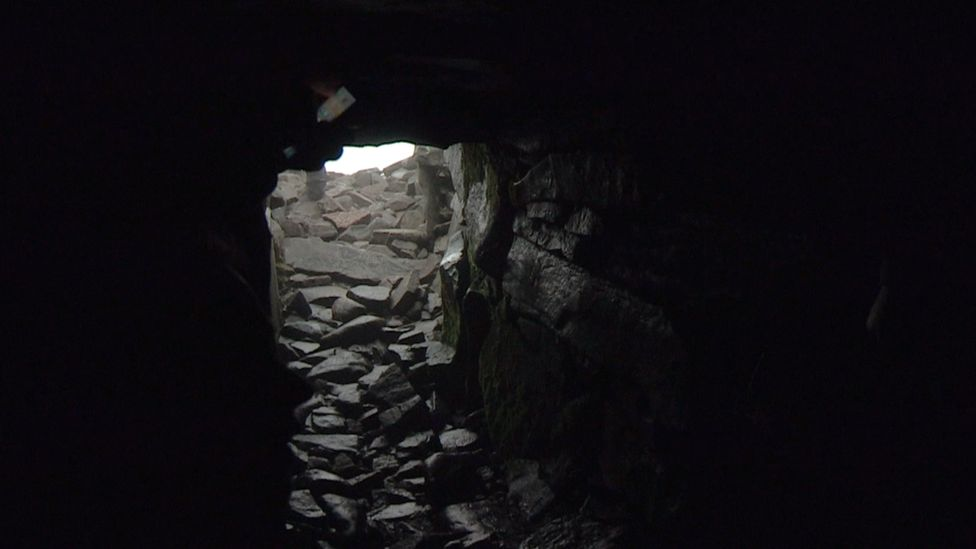 Passage tomb at Slieve Gullion