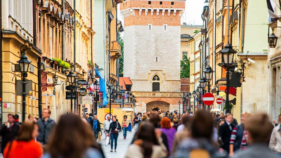 Old town, Krakow
