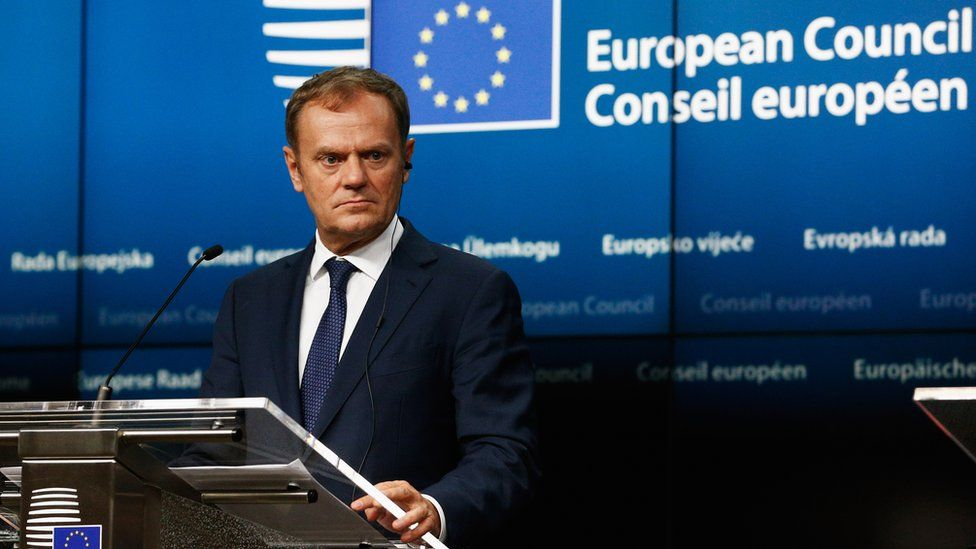 European Council President, Donald Tusk