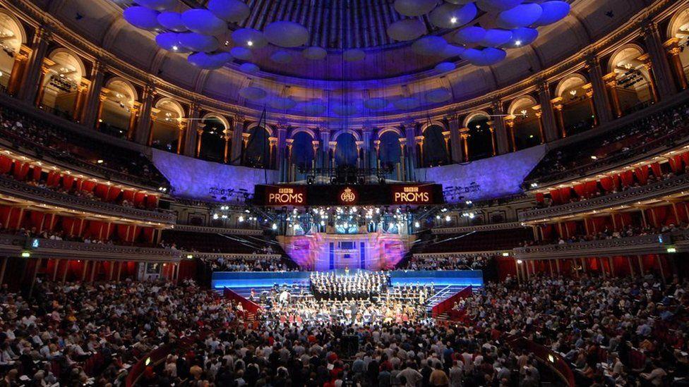 The Royal Albert Hall during the 2015 Proms season