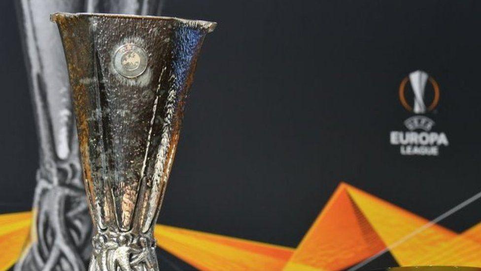 Europa League trophy