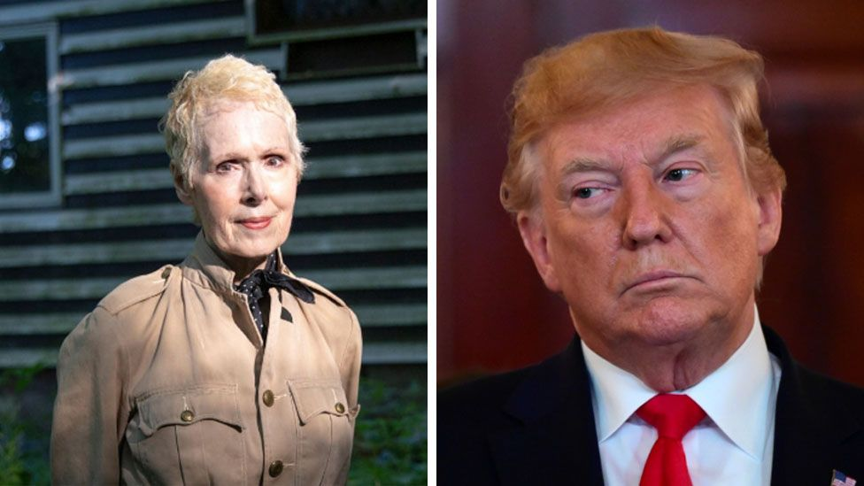 Trump says sexual assault accuser E Jean Carroll 'not my type'