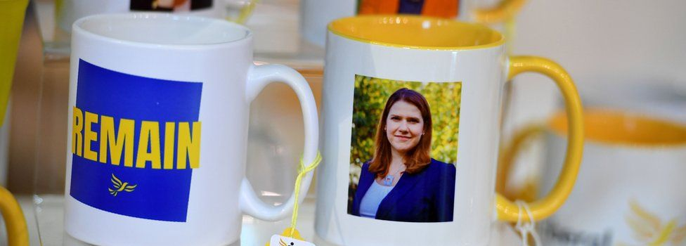 Mugs at the Lib Dem conference