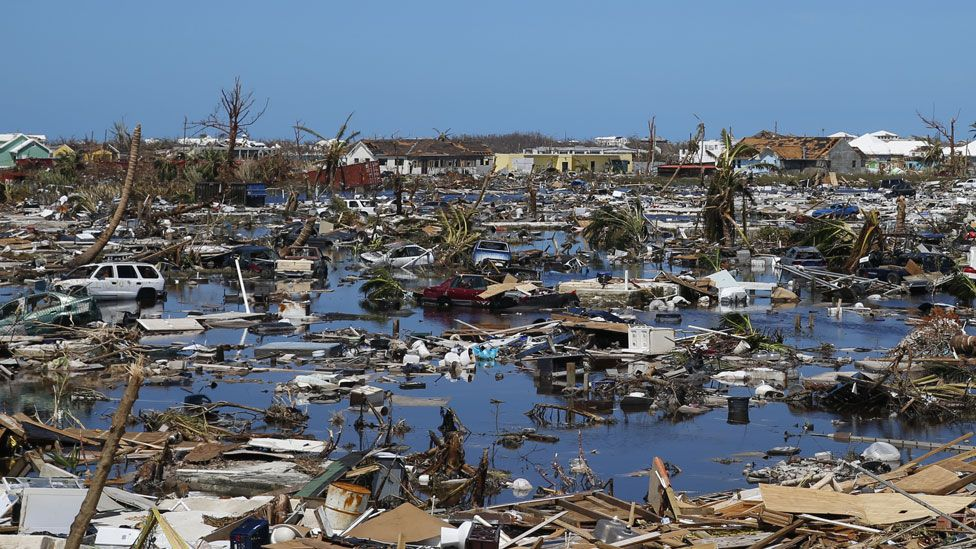 destruction in Great Abaco