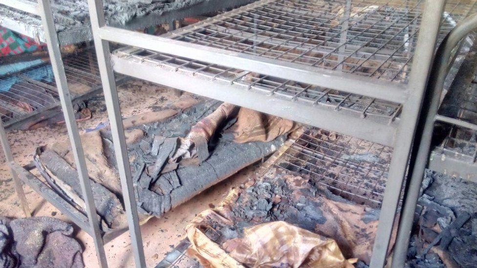 Burnt bed