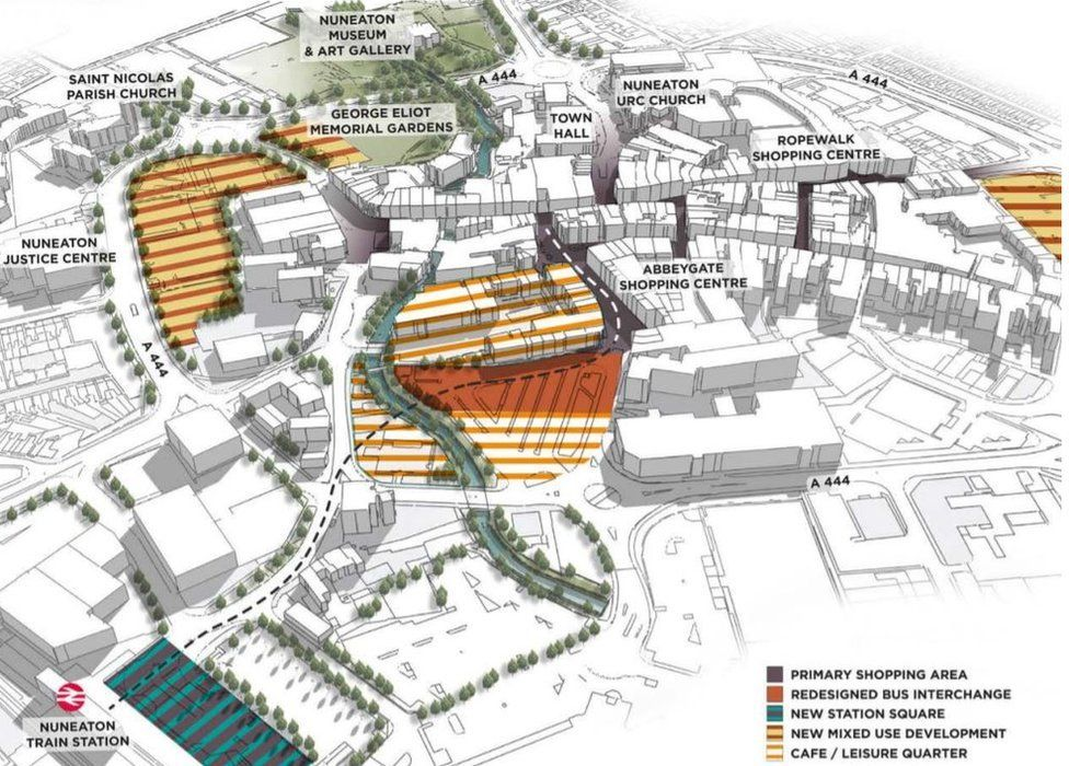 Transforming Nuneaton plans