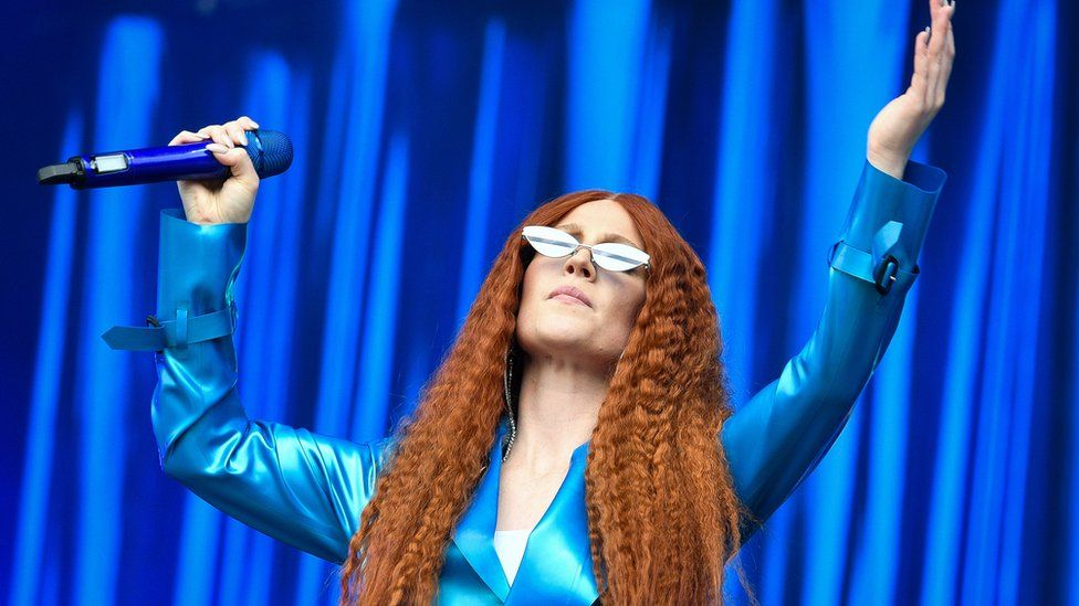 Jess Glynne performs at BBC Music's Biggest Weekend