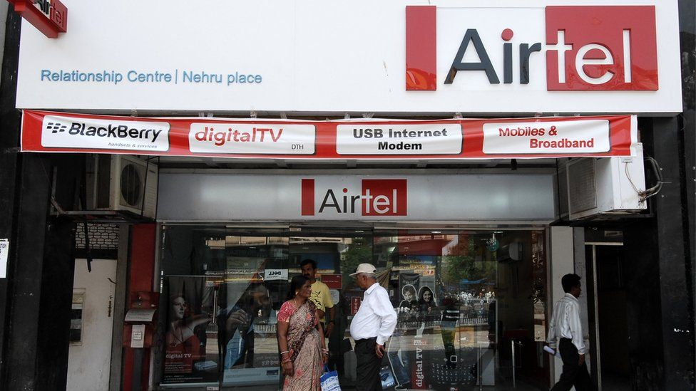 Airtel Relartionship Centre at Nehru Place in New Delhi
