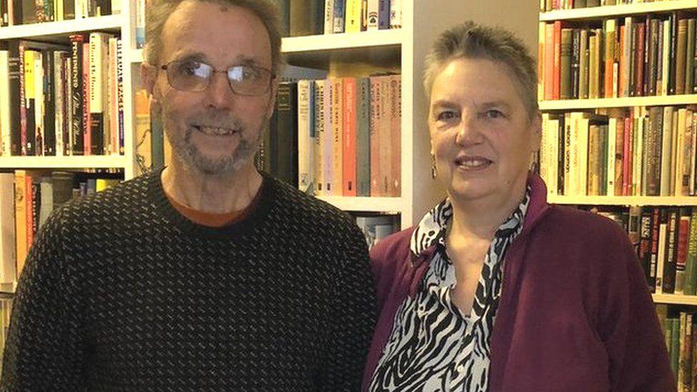 Geoff Hardy and Sue Gorbing