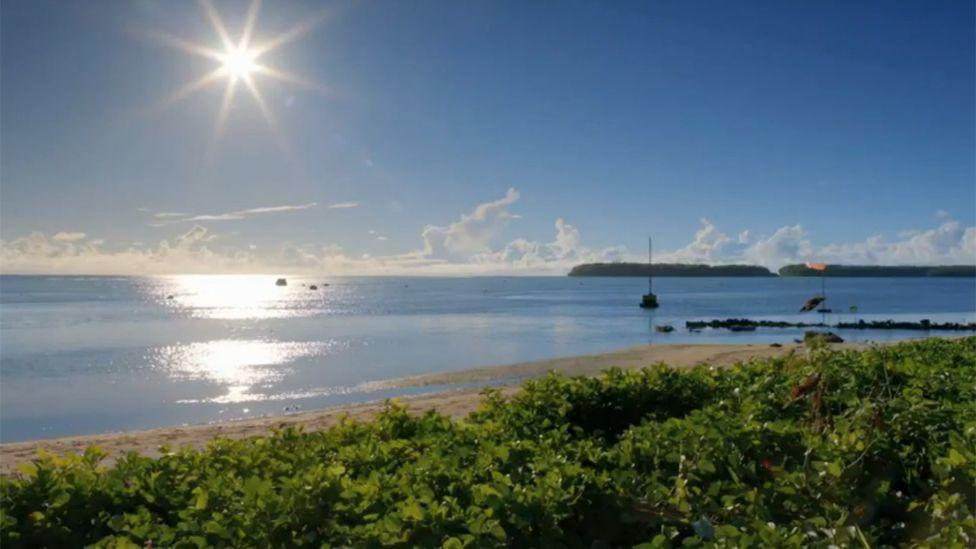 Pingelap shore