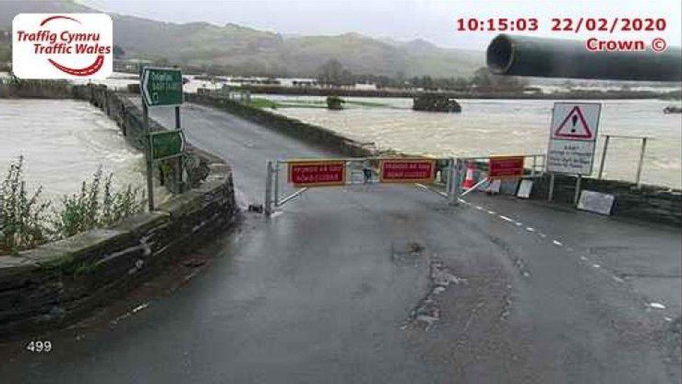 A487 Dyfi Bridge