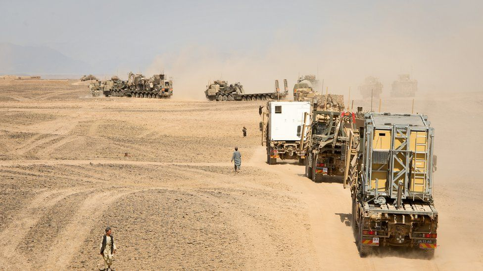 British withdrawal from Afghanistan in 2014