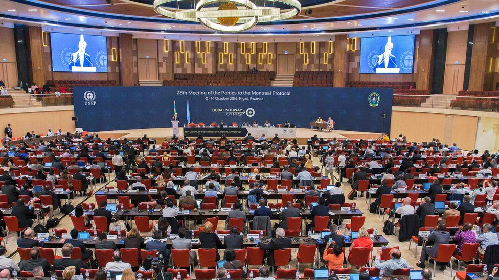 Montreal Protocol meeting in Kigali - 14 October