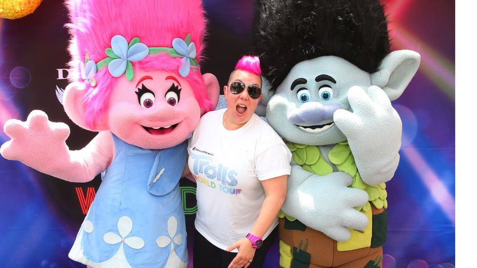 The release of the movie Trolls: World Tour will happen concurrently in cinemas and online on 10 April.