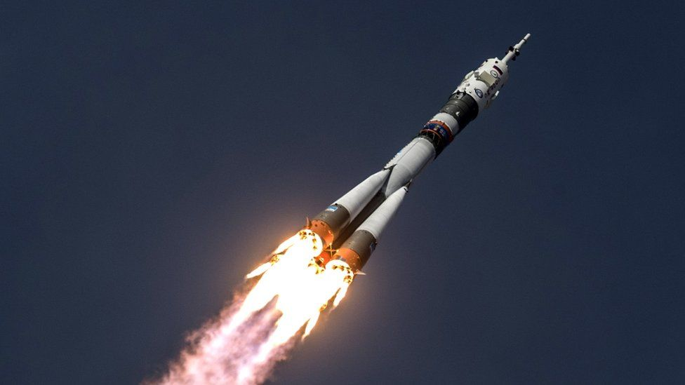 A Soyuz rocket