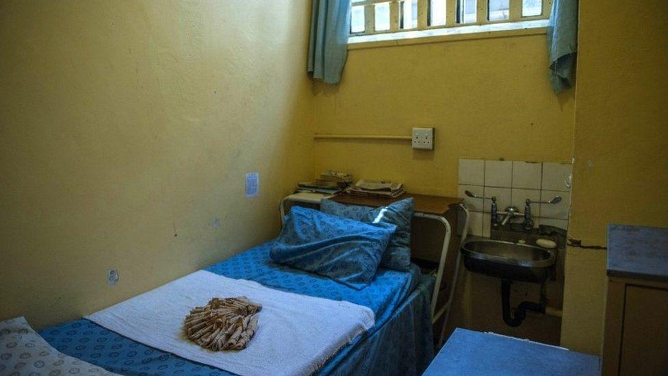 Pistorius prison cell