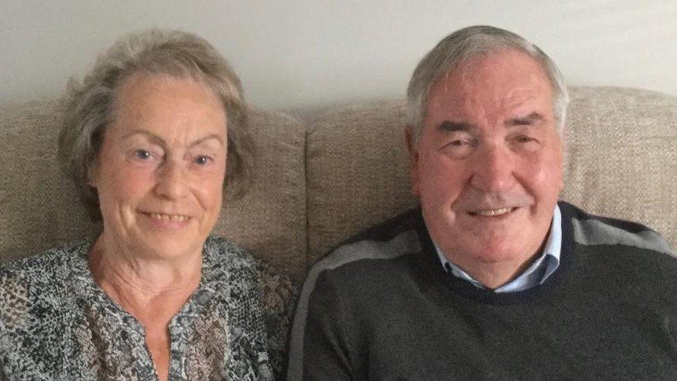 Janice and Richard Shrubsall