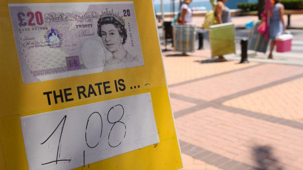 Exchange rate board in Spain
