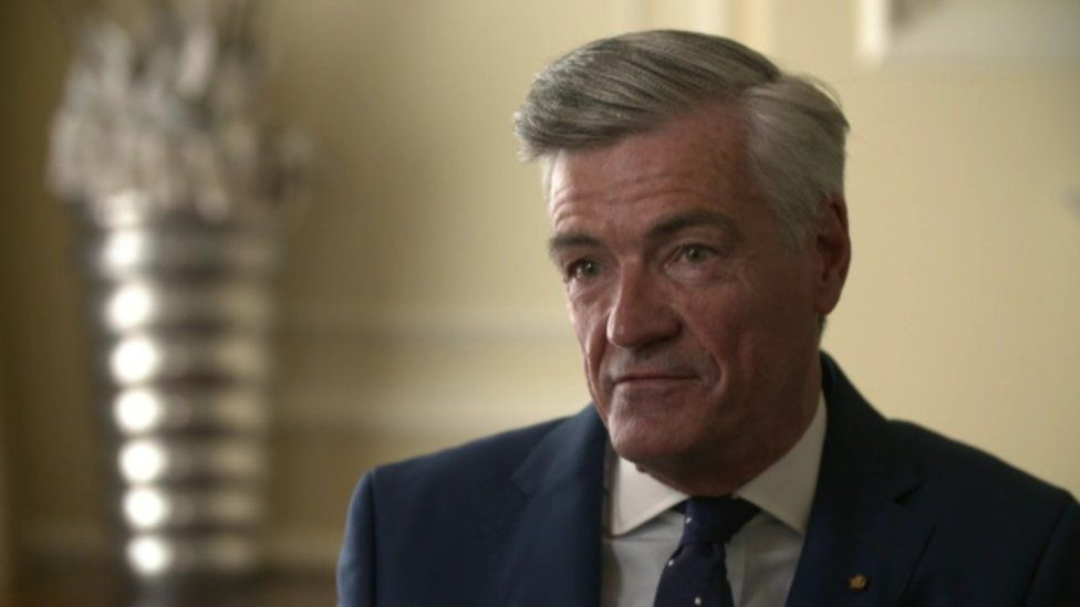 David Anderson, the former household manager at Hillsborough Castle