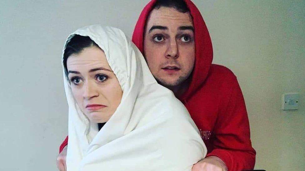 Eimi and her boyfriend Kieran